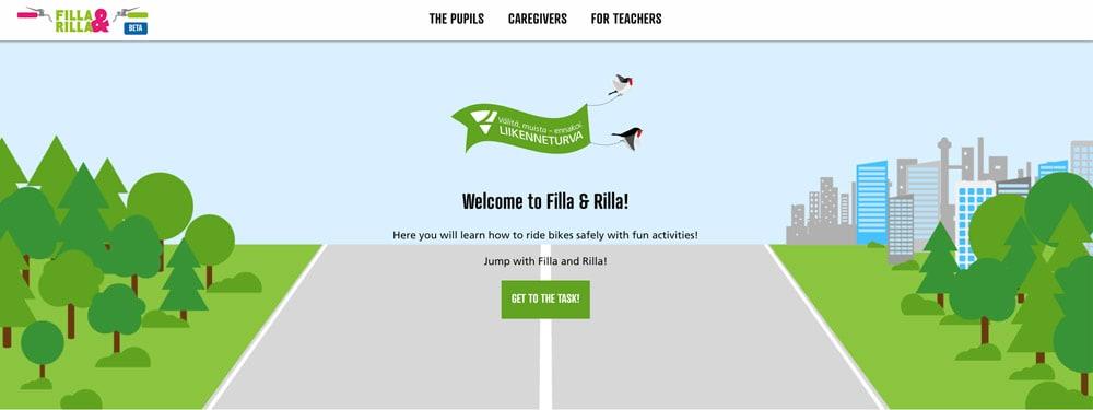 Filla & Rilla homepage