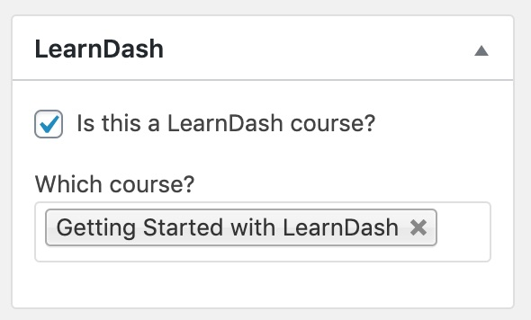 Connect LearnDash course to Easy Digital Downloads product